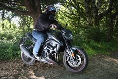 Ready! (adrianwoolgar) Tags: motorbike gsxs 750 z phantom gixxer suzuki gsxr 1000 1300 600 hayabusa me biker motorcyclist meet grandad old fart flash photography outdoor ready