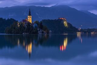 *Blejsko Jezero @ Blue Hour*