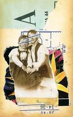 Leo & Pipo, by Paul Jeca (Leo & Pipo) Tags: leopipo loetpipo pari streetart street art artwork collage portrait imaginary cut paste paper handmade analog cutandpaste pauljeca retro vintage old kids mixed media graphic design france dada surreal