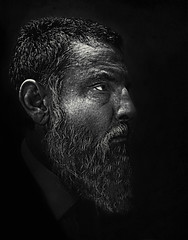 me, July 2017 (mattleof) Tags: sony rx100 m4 mattfredrickson fredrickson city photo photos photography light orange orangecounty california ca photographer matt me black white bw beard age