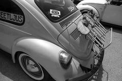 Annual VW Aircooled Club Event (Ilya.Bur) Tags: annual vw aircooled club event פולקסווגן קירור אוויר nikon fe sigma 24mm f28 super wide fuji acros 100 caffenolcm rs beetle bug classic car vehicle analog film bw black white