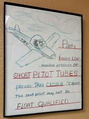 Pilot Warning (twm1340) Tags: may 2017 lee pirie arizona visit tour cottonwood az sign airport