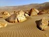 Desert, Toro Muerto, Peru (CIFOR) Tags: latinamerica greenhouseeffect sand scenery desert climate globalwarming regions soildegradation southamerica climatechange rock peru provinciadecastilla arequipa pe