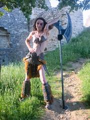Shooting Skyrim - Ruines d'Allan -2017-06-03- P2090696 (styeb) Tags: shoot shooting skyrim allan ruine village drome montelimar 2017 juin 06 cosplay xml retouche modelarboreal