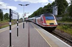43309 Berwick-upon-Tweed 08/07/2017 (Flash_3939) Tags: 43309 43306 class43 hst highspeedtrain diesel virgin virgintrains 1e09 bwk berwickupontweed station ecml eastcoastmainline fone rail railway train uk july 2017