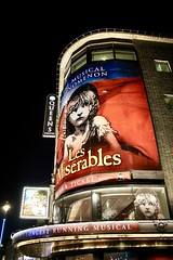 The Miserables musical (soleneelle) Tags: miserables musical music london stage classic french community language literature victor hugo sing oscar production street art graffiti