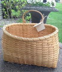 Large Mail Basket (Nutmegbasketry) Tags: mailbasket basket shakerbasket shaker handwoven handmade ctmade newenglandmade basketmaker