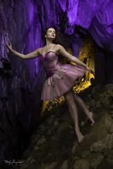 Charmaine B cave -00231 (snapa1) Tags: 1date 2017 charmainebrocklebank june model portraiture cave danceshoot female locationplaces dance dancer jump unconventional beauty tutu dress