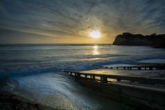 2016-12-26 Freshwater bay sunset 002 (jillbramley) Tags: coast freshwaterbay iow sunset