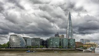 London skyline ...