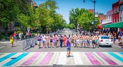 2017.06.10 Painting of #DCRainbowCrosswalks Washington, DC USA 6439