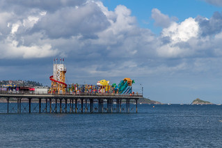 Big Sky over Paignton Pier [In Explore 7/6/17]