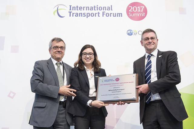 2017 Promising Transport Innovation Award winner: WhereIsMyTransport