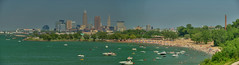 Urban Shores 2017.06.11.14.33.46 (Jeff®) Tags: jeff® j3ffr3y cleveland beach ohio outside ohiopark outdoors clevelandohio edgewater ohiostatepark water lakeerie greatlakes cuyahoga boat sky blue fun