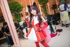 Tousaka Rin (Tumeatcat) Tags: anime cosplay portrait c3afabkk afa nikon d800 fate rin