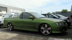 Holden Ute SS 2003 (XBXG) Tags: 16vzh3 holden ute ss 2003 holdenute v8 green pick up pickup weesp nederland holland netherlands paysbas gm general motors generalmotors australian car auto automobile voiture australienne australia utility vehicle outdoor