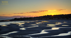 What I Can't Be Today, I Can Be Tomorrow (DetroitDerek Photography ( ALL RIGHTS RESERVED )) Tags: allrightsreserved canada britishcolumbia bc westcoast ocean lowtide sea water refection sunset hdr 3exp june 2017 parksville sun light ripples sand trees nature beauty canon 5d mkii digital detroitderek vacation paulweller changingman
