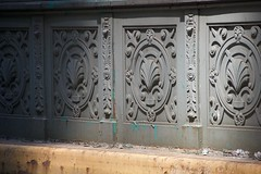 Some building details as seen during City Streets in Manhattan. (jackszwergoldarchives) Tags: manhattan newyorkcity summerstreets szwergold