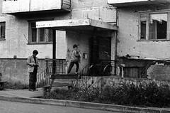95850010 (sabpost) Tags: retro vintage scan film bw ussr ссср пленка сканирование скан негатив россия ретро old rare scans russia russian found photo siberia сибирь soviet house