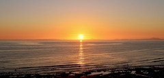 """You are my Sunshine..."".17 (winston 1) Tags: sun sunsetoversea wales snowdonia robdemel warm camping redwine"