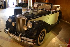 Jaguar MKV 1950 (Monde-Auto Passion Photos) Tags: voiture vehicule auto automobile jaguar mkv cabriolet convertible roadster spider ancienne rare rareté collection france osenat vente enchère fontainebleau