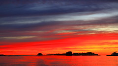 Vibrandsøy Haugesund (bjarne.stokke) Tags: rogaland haugesund norway norge norwegen skyer solnedgang sunset