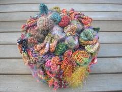 072 (crochetblue) Tags: crochet freeformcrochet needleweaving tunisiancrochet