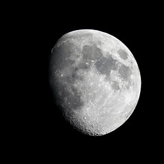 tiny 'scope, second quarter (mkk707) Tags: canoneos600d tsoptics tsed503 refractor telescope moon waxingmoon nightsky nightshot goldenhandle