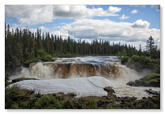 Pisew Falls, Manitoba (Northern Pike) Tags: canadianshield boreal forest pisewfalls manitoba