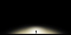 .................time to change. (Corinaldesi Roberto) Tags: man solitude black change mistery silhouette walk monochrome