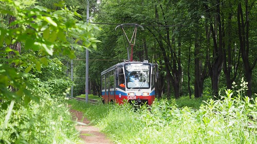 Moscow tram 5408