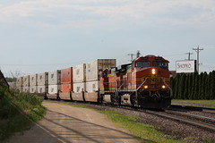 BNSF 4464 (CC 8039) Tags: bnsf trains ac44cw savanna illinois