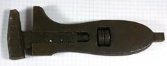 Jammed Adjustable Spanner (anachrocomputer) Tags: dmcg7 1235mm f28 carbootsale tools adjustable spanner bent jammed