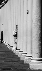 In the pillars (Mike Thorn) Tags: street mikethornberry columns pillars bath