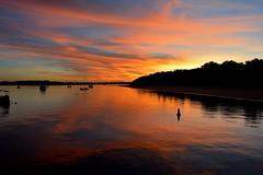 DSC_0026 (RUMTIME) Tags: sunset coochiemudlo coochie clouds sky water beach redlands brisbane