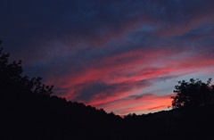 (Anny-justme) Tags: nature night landscape sky sunset silhouette clouds evening dusk mystic outdoor
