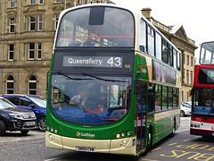 Lothian Country 935 (SN09CVW) - 24-06-17 (peter_b2008) Tags: lothiancountry lothianbuses volvo b9tl wright eclipsegemini2 935 sn09cvw edinburgh buses coaches transport buspictures
