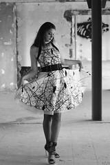 La belle au pays interdit (stéph41) Tags: noir et blanc monochrone