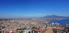 Naples - view from Castel Sant'Elmo, Naples (SomePhotosTakenByMe) Tags: fli castelsantelmo festung fortress urlaub vacation holiday italy italien naples napoli neapel city stadt outdoor vomero gebäude building architektur architecture downtown innenstadt meer sea ocean ozean mittelmeer tyrrheniansea tyrrhenischesmeer mediterraneansea golfvonneapel gulfofnaples