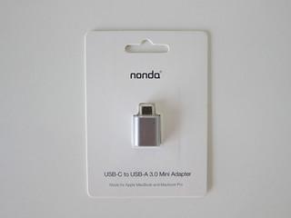 nonda USB-C to USB 3.0 Mini Adapter