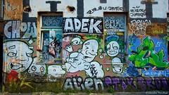 IMGP2259 (Claudio e Lucia Images around the world) Tags: metelkova mesto lubiana ljubljana tag graffiti murales streetart window colors sigma