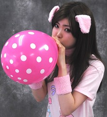 """""""'Tis More Nice Pig Air!"""" (emotiroi auranaut) Tags: girl woman lady cute attractive adorable pig ears model female feminine femininity beauty beautiful charm charming effort trying air pink white polka dots toy balloon fun breathe breathing concentrate concentration people amusement blow blowing swell expand expanding squeak play playing playful mischief mischievous bigger grow growing fascinated fascinating fascinate huff puff huffing puffing big large larger risk pop sweet sweetness gorgeous"""