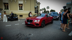 Benltey Continental GT Convertible (Tzo_alex) Tags: bentley continental gt coupe supercar luxury brittish red burgundy monaco montecarlo casino hotel paris f1 2017