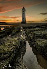 """Perch Rock Lighthouse June Sunset"" (Ray Mcbride Photography) Tags: lighthouse perchrock newbrighton"