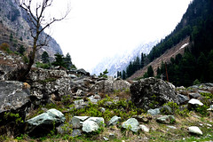 Kashmir valley (ashugraphy35mm) Tags: landscape scenery nature hill white valley mountain himalaya snow kashmir