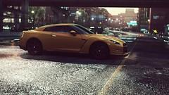 Nissan GTR (polyneutron) Tags: car photography nissan gtr yellow sport mostwanted nfs needforspeed pc 4k videogame photomode depthoffield blur