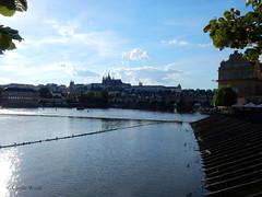 Prague - Panorama (Fontaines de Rome) Tags: prague panorama praha panoráma pražský hrad karlův most vltava