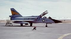 Convair F-106B Delta Dart--5th FIS (Sentinel28a1) Tags: convair f106 f106b deltadart 5thfis minotafb malmstromafb usaf adc interceptor fighter