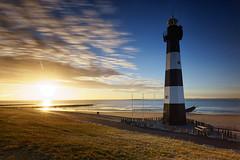 Lighthouse (Holger Neuert) Tags: sunset lighthouse breskens netherlands nl