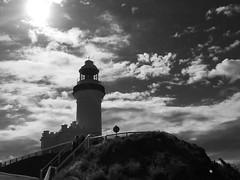 The Byron bay lighthouse (YAZMDG (16,000 images)) Tags: byronbay nsw australia northernrivers lighthouse mono bw monochrome monoesque monochromatic